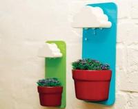 Con 'rainy pots' podrás regar tus plantas como lo haría la lluvia