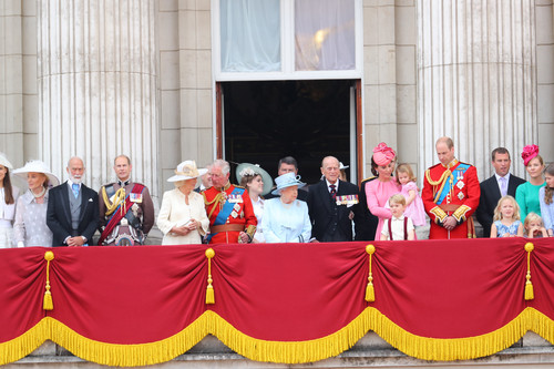 Los mini-Royals nos enloquecen en el Trooping the Colour