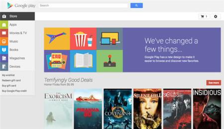 Google rediseña la versión web de Google Play