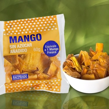 Bajo la lupa: snacks de fruta deshidratada de Mercadona