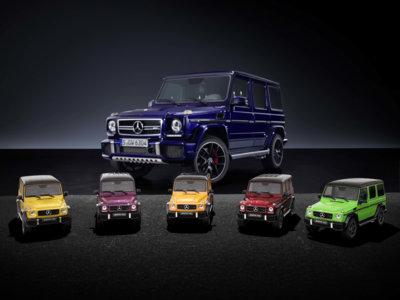 "Ya puedes tener tu Mercedes-AMG G 63 ""crazy colours"""