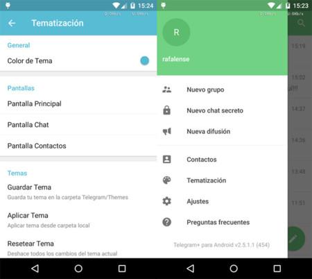 El creador de Whatsapp Plus se pasa a Telegram + con un cliente muy personalizable