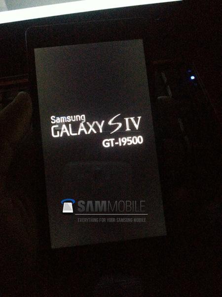 Galaxy SIV leak