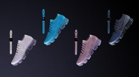 Nike lanza cuatro nuevas y coloridas correas para el Apple Watch para combinarlas con sus nuevas zapatillas