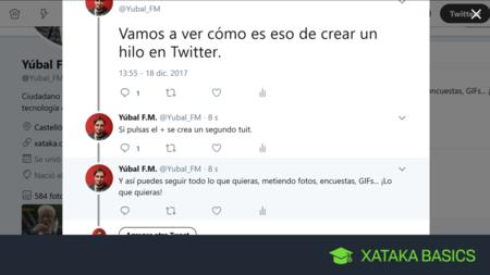 Cómo crear hilos en Twitter, tanto en su versión web como en el móvil