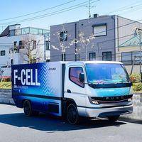 Este camión de hidrógeno Mitsubishi promete 300 km de autonomía y repostajes en 10 minutos, pero tardará en llegar