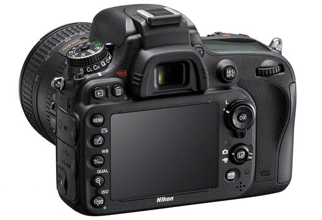 Nikon D600 - trasera