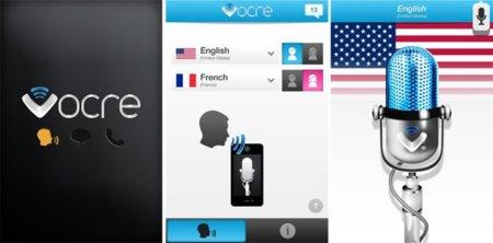 Vocre, traducción instantánea de voz para iOS