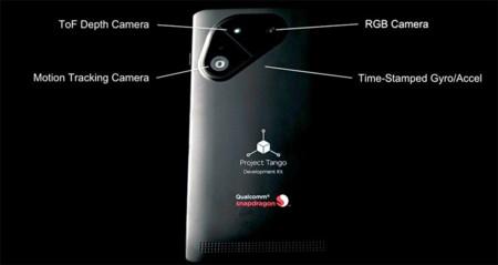 Project Tango vuelve a formato teléfono, Qualcomm pone el hardware