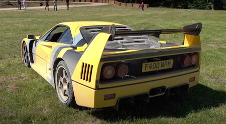 """El Ferrari F40 """"más famoso de Reino Unido"""" de drift, en vídeo"""