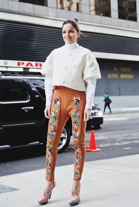 Sabor a jamón de la mano de Elena Anaya en la Semana de la Moda de Nueva York