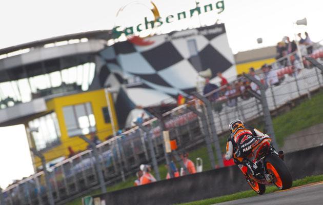 Marquez hacia MotoGP