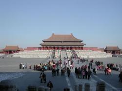 China colapsada por sus propios turistas