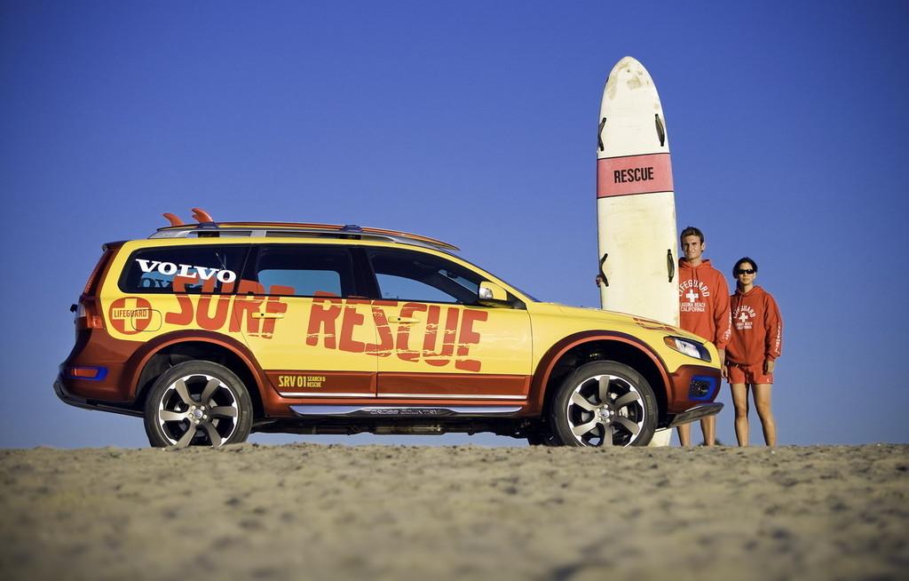 Foto de Volvo XC70 vigilante de la playa (21/26)