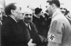 Louis Renault con Adolf Hitler (1939)