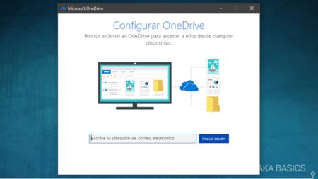 Configurar Onedrive