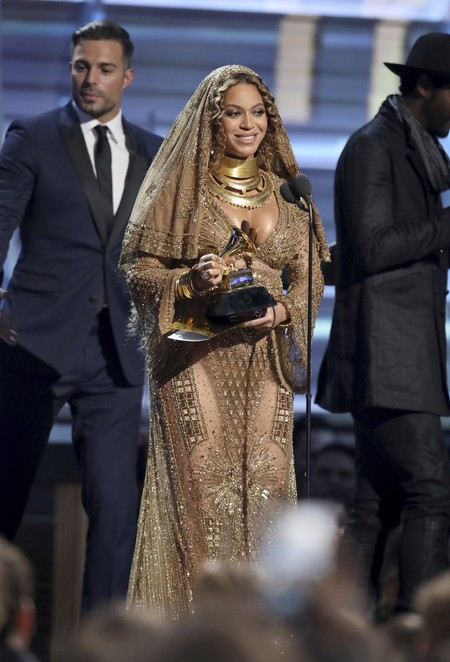 Beyonce Grammy 3