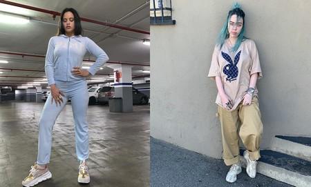 Billie Eilish Y Rosalía Dos De Las Chicas Favoritas De La