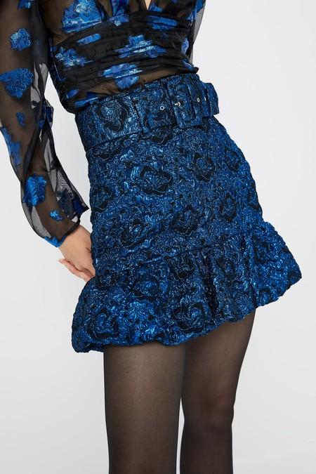 Falda De Zara Azul