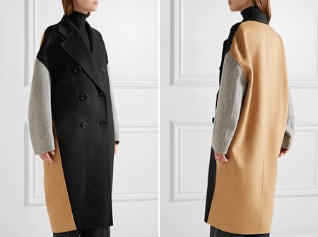 Acne Studios Coat Tri Color