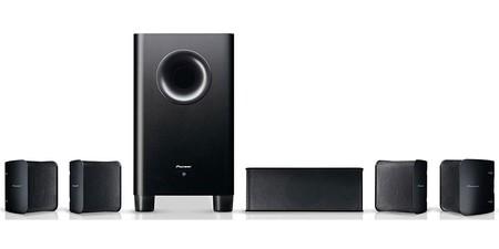 Por sólo 189 euros en eBay, puedes tener un sonido increíble para tus películas y videojuegos con el equipo 5.1 Pioneer S-HS100