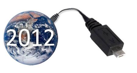 Micro-USB, un cargador para móviles único en 2012