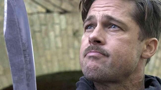 Imagen de Brad Pitt en la película 'Malditos bastardos'