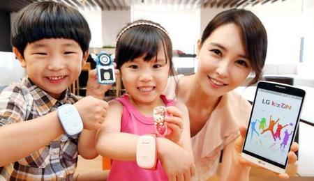 LG presenta KizON un smartwatch para niños