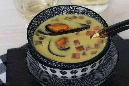 Sopa De Mejillones en crema