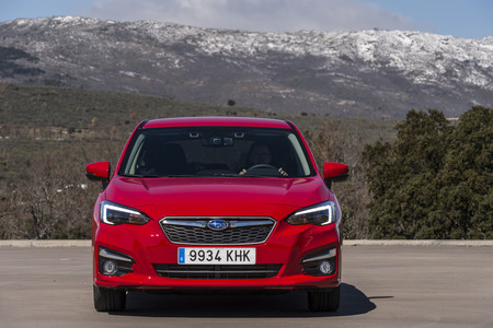 Subaru Impreza 2018 frontal