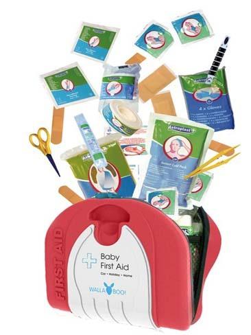 Kit de primeros auxilios para el bebé
