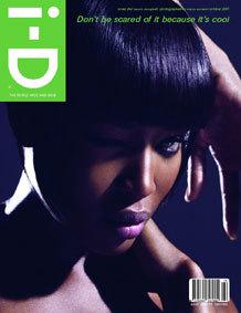 Naomi Campbell en la portada de i·D