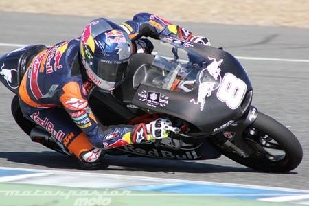Jack Miller en Moto3 y Thomas Luthi en Moto2 lideran en el segundo día de test en Jerez