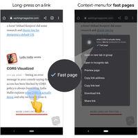 Así es como Chrome para Android te informará si una página web es rápida