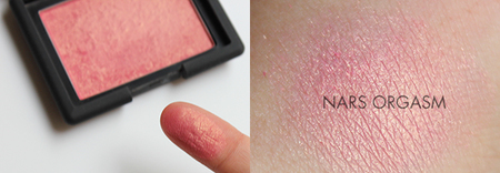 Nars colorete Orgasm fotos
