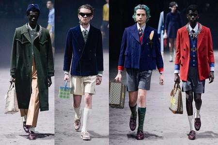 Gucci Propone Una Nueva Masculinidad En Su Coleccion De Invierno Apelando A La Nostalgia