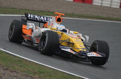 La lluvia marca el primer día de pruebas en el Circuit