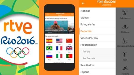 RTVE estrena app para seguir los JJOO con 19 señales en directo y ...
