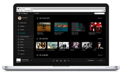 Tidal, la enésima app de streaming