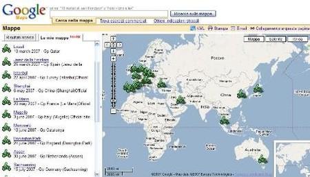 """""""Wiki"""" de los circuitos de MotoGP, con google maps"""