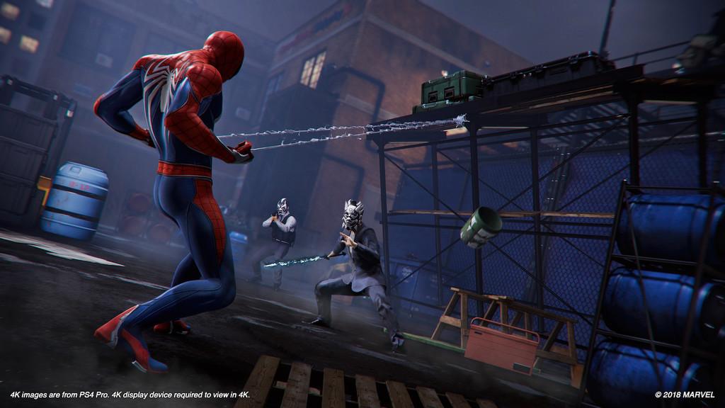 Spider Man Ps4 2
