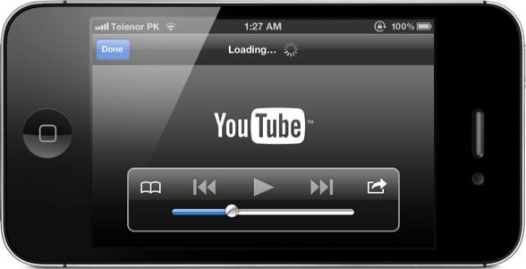 youtube expulsado ios6