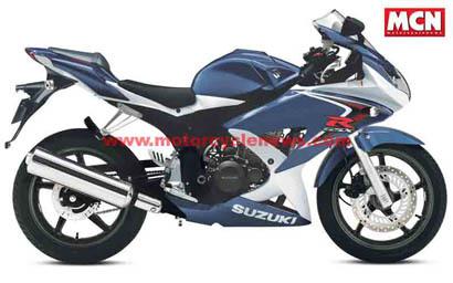 Suzuki GSXR 125 para finales de año