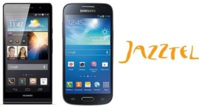 Precios Samsung Galaxy S4 mini y Huawei Ascend P6 con Jazztel