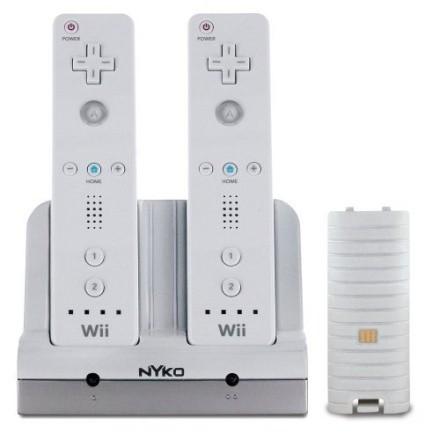 Cargador Nyko para el mando de la Wii