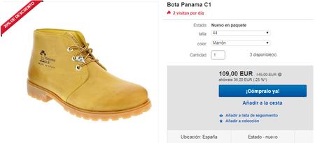 Botas Panama Jack Ebay