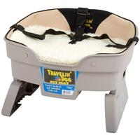 Travelin' Dog Pet Seat, seguridad para viajar en coche con la mascota