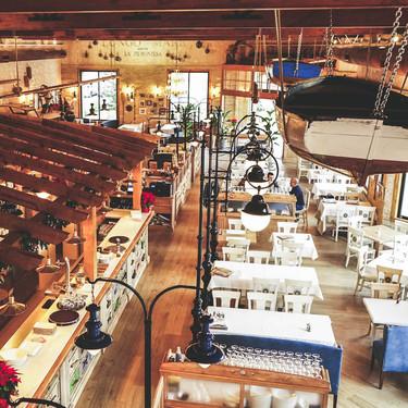 Inspirado en un antiguo astillero, así es el restaurante La Piemontesa en Alicante