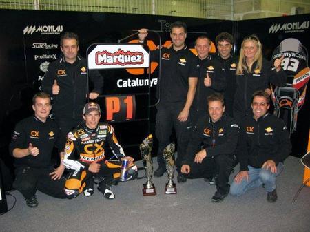 Marc Márquez GP Francia equipo