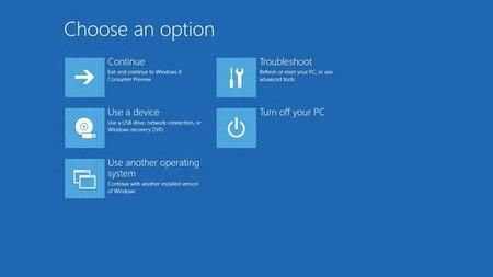 Windows 8: todos los cambios en el inicio del sistema